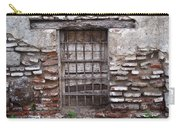 Decaying Wall And Window Antigua Guatemala 2 Carry-all Pouch