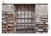 Decaying Wall And Window Antigua Guatemala 3 Carry-all Pouch