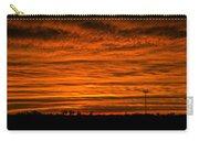 December Nebraska Sunset 002 Carry-all Pouch