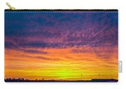 December Nebraska Sunset 003 Carry-all Pouch