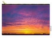December Nebraska Sunset 004 Carry-all Pouch