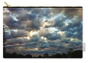 Deceptive Clouds Carry-all Pouch by Cricket Hackmann