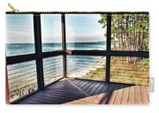Deck With Ocean View Carry-all Pouch
