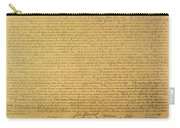 Declaration Of Independence Carry-all Pouch by American School