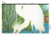 Deco Egret Carry-all Pouch