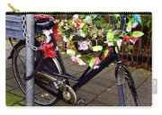 Decorated Bicycle. Amsterdam. Netherlands. Europe Carry-all Pouch