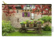 Half-timbered House, Riquewihr, Alsace,france  Carry-all Pouch