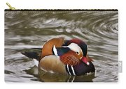 Decorated Duck Carry-all Pouch