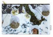 Decorations In The Snow Carry-all Pouch