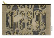 Decorative Design, Carel Adolph Lion Cachet, 1874 - 1945 Vq Carry-all Pouch