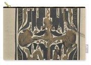 Decorative Design, Carel Adolph Lion Cachet, 1874 - 1945 Y Carry-all Pouch