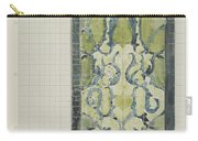 Decorative Design In Green And Blue, Carel Adolph Lion Cachet, 1874 - 1945 Carry-all Pouch