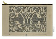 Decorative Design In National Colors, Carel Adolph Lion Cachet, 1874 - 1945 Carry-all Pouch