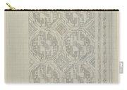 Decorative Design With Geometric Motif, Carel Adolph Lion Cachet, 1874 - 1945 Carry-all Pouch