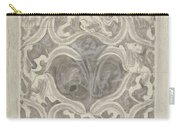 Decorative Design With Leaf Motif, Carel Adolph Lion Cachet, 1874 - 1945 Carry-all Pouch