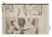 Decorative Designs With Seated Figures, Carel Adolph Lion Cachet, 1874 - 1945 Carry-all Pouch
