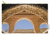 Decorative Moorish Architecture In The Nasrid Palaces At The Alhambra Granada Spain Carry-all Pouch