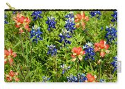 Decorative Texas Bluebonnets Meadow Digital Photo G33117 Carry-all Pouch