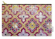 Decorative Tiles Islamic Motif  Carry-all Pouch