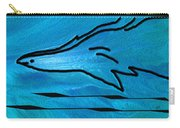 Deep Blue Carry-all Pouch by Ben and Raisa Gertsberg