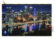 Deep Blue Night In Pittsburgh Carry-all Pouch