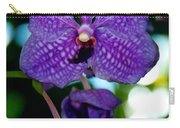 Deep Blue Orchid Carry-all Pouch