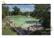 Deep Eddy Pool Is A Family Friendly, Family Fun, Public Swimming Pool In Austin, Texas Carry-all Pouch