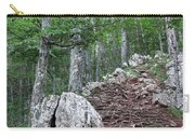 Deep Forest Rocky Path Nature Carry-all Pouch
