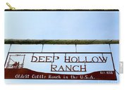 Deep Hollow Ranch Carry-all Pouch