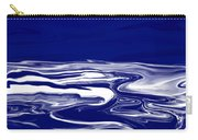 Deep In Blue Carry-all Pouch