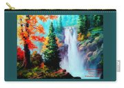 Deep Jungle Waterfall Scene. L A  Carry-all Pouch