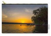 Deep Orange Sunset Over Keuka Lake Carry-all Pouch