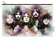 Deep Purple.rock Stars Carry-all Pouch