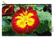 Deep Red Bright Yellow Carry-all Pouch