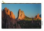 Deep Sunset At Garden Of The Gods Carry-all Pouch