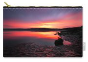 Deep Sunset At Morecambe Carry-all Pouch