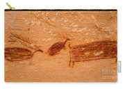 Deer And Bison Pictograph - Horseshoe Canyon - Utah Carry-all Pouch