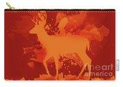 Deer Art Evening Carry-all Pouch