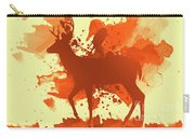 Deer Art Morning Carry-all Pouch