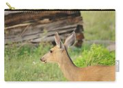 Deer By Ghost Town Carry-all Pouch