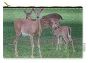 Deer Family Out For Evening Stroll Carry-all Pouch