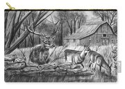 Deer Field  Carry-all Pouch