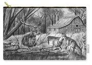 Deer Field  Carry-all Pouch