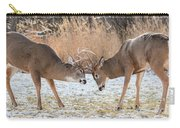 Deer Fight Carry-all Pouch