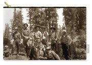 Deer Hunters  With Rifles Circa 1917 Carry-all Pouch