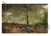 Deer In A Wood Carry-all Pouch