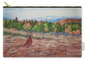 Deer In Fall Carry-all Pouch