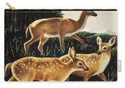 Deer In Forest Clearing Carry-all Pouch