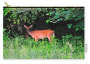 Deer In Overhang Of Trees Carry-all Pouch