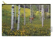 Deer In Spring Carry-all Pouch